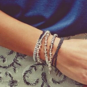 Jewelry - Bead + Chain Multi-Wrap Bracelet